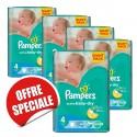 248 Couches Pampers Active Baby Dry taille 4 sur Sos Couches