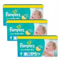147 Couches Pampers Active Baby Dry taille 4 sur Sos Couches