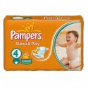 68 Couches Pampers Sleep & Play taille 4 sur Sos Couches