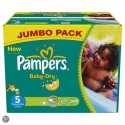 240 Couches Pampers Baby Dry taille 5 sur Sos Couches
