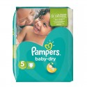 74 Couches Pampers Baby Dry taille 5 sur Sos Couches