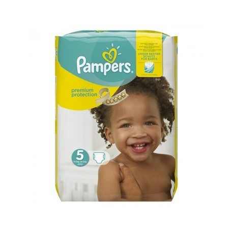 136 Couches Pampers New Baby Premium Protection taille 5 sur Sos Couches