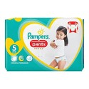 40 Couches Pampers Premium Protection Pants taille 5 sur Sos Couches