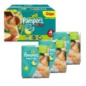 210 Couches Pampers Baby Dry taille 4 sur Sos Couches