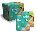 420 Couches Pampers Baby Dry taille 4 sur Sos Couches