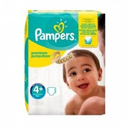 21 Couches Pampers New Baby Premium Protection taille 4+