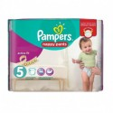 17 Couches Pampers Active Fit Pants taille 5 sur Sos Couches