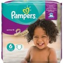 120 Couches Pampers Active Fit taille 6 sur Sos Couches