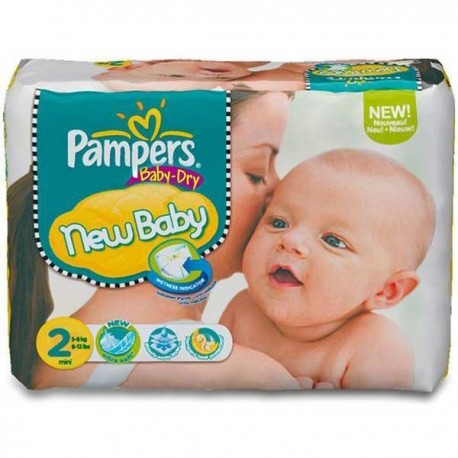 72 Couches Pampers Baby Dry 2 sur Sos Couches