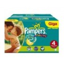 115 Couches Pampers Baby Dry taille 4 sur Sos Couches