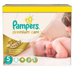 200 Couches Pampers Premium Care taille 5