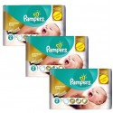 132 Couches Pampers New Baby Premium Care taille 2 sur Sos Couches