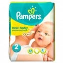 76 Couches Pampers New Baby Dry taille 2 sur Sos Couches