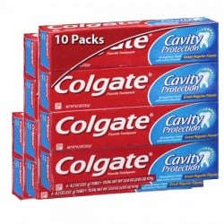 10 Dentifrices Colgate Cavity Protection
