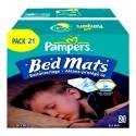 21 Alèses de lits Pampers taille 90X80cm sur Sos Couches