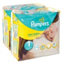 270 Couches Pampers New Baby taille 1 sur Sos Couches