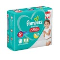 72 Couches Pampers Baby Dry Pants taille 5+ sur Sos Couches