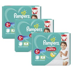 240 Couches Pampers Baby Dry Pants taille 5+