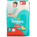 15 Couches Pampers Baby Dry Pants taille 5 sur Sos Couches