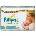 33 Couches Pampers Premium Care taille 1 sur Sos Couches