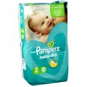 58 Couches Pampers Baby Dry 2 sur Sos Couches