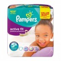 68 Couches Pampers Active Fit taille 5+ sur Sos Couches