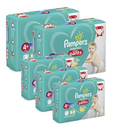 245 Couches Pampers Baby Dry Pants taille 4+