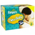 640 Couches Pampers New Baby Dry taille 2 sur Sos Couches