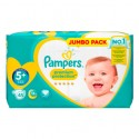 20 Couches Pampers New Baby Premium Protection taille 5+ sur Sos Couches