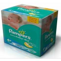 160 Couches Pampers Active Baby Dry taille 4+ sur Sos Couches