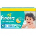 240 Couches Pampers Active Baby Dry taille 4+ sur Sos Couches