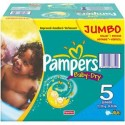 207 Couches Pampers Baby Dry taille 5 sur Sos Couches