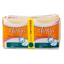 36 Serviettes hygiéniques Always Simply Fits taille normal plus