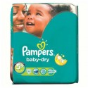 35 Couches Pampers Baby Dry taille 5+ sur Sos Couches