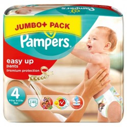 140 Couches Pampers Easy Up taille 4 sur Sos Couches