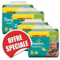 140 Couches Pampers Baby Dry taille 5+ sur Sos Couches