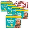 210 Couches Pampers Baby Dry taille 5+ sur Sos Couches