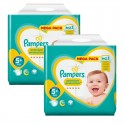 180 Couches Pampers New Baby Premium Protection taille 5+ sur Sos Couches