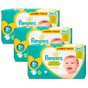 240 Couches Pampers New Baby Premium Protection taille 5+ sur Sos Couches