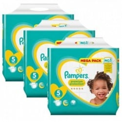 476 Couches Pampers New Baby Premium Protection taille 5