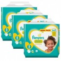 476 Couches Pampers New Baby Premium Protection taille 5 sur Sos Couches