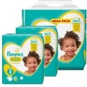 680 Couches Pampers New Baby Premium Protection taille 5 sur Sos Couches