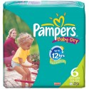110 Couches Pampers Baby Dry taille 6 sur Sos Couches
