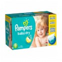 33 Couches Pampers Baby Dry 6 sur Sos Couches