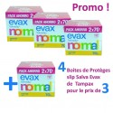 320 Protèges-Slips Tampax Salva Evax - 4 Packs de 140 sur Sos Couches