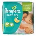 288 Couches Pampers Baby Dry taille 4+ sur Sos Couches