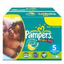 176 Couches Pampers Baby Dry taille 5 sur Sos Couches