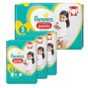 136 Couches Pampers Premium Protection Pants taille 5 sur Sos Couches