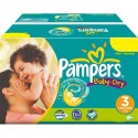 450 Couches Pampers Baby Dry taille 3 sur Sos Couches