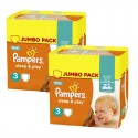 Giga pack 280 Couches Pampers Harmonie taille 4 sur Sos Couches